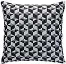 Habitat Paulista Cushion 60x60cm  Black and White
