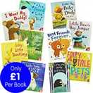 Sweet Animals - 10 Kids Picture Books Bundle