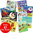 Animals And Adventure - 10 Kids Picture Books Bundle